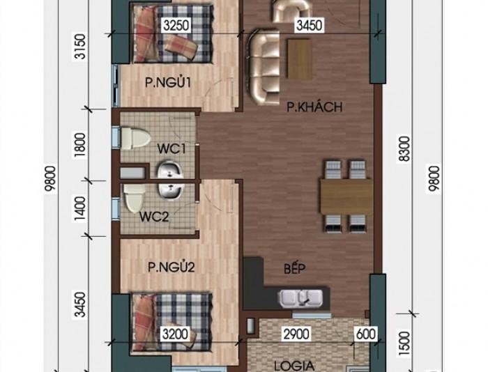 Cần bán gấp căn hộ cao cấp chung cư Mường Thanh dọc biển võ nguyên giáp giá rẻ chính chủ