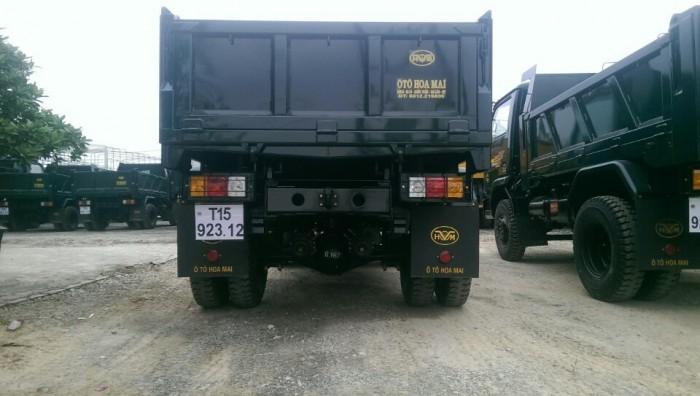 Xe tải ben Hoa Mai 3.48 tấn 1 cầu