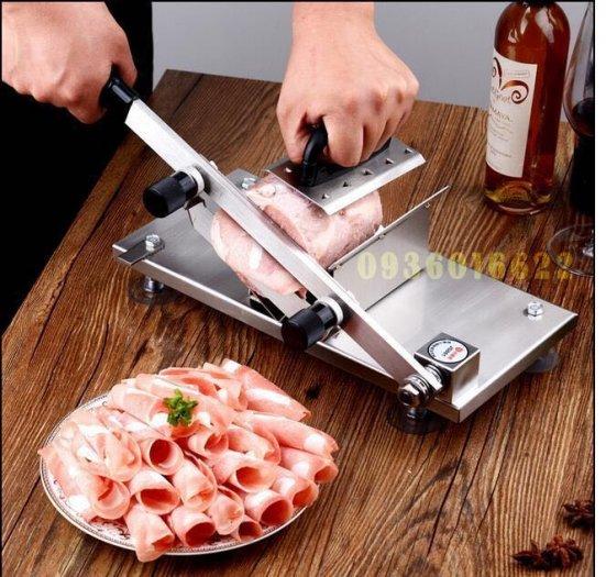 Máy cắt thịt đông lạnh mini bằng tay giá rẻ ST200