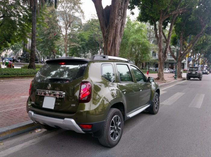 Renault Duster, xe Pháp, ổn định, bền bỉ, an toàn, vượt mọi cung đường.