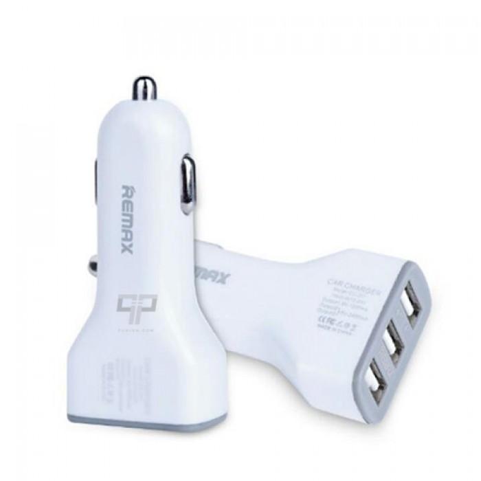 Cốc Sạc Xe Hơi Remax 3 Cổng USB