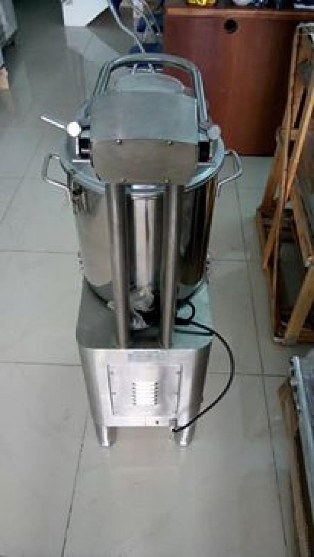 Máy chà vỏ khoai tây - 110kg/h - Restop
