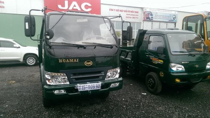 Xe tải ben Hoa Mai 2,35 tấn