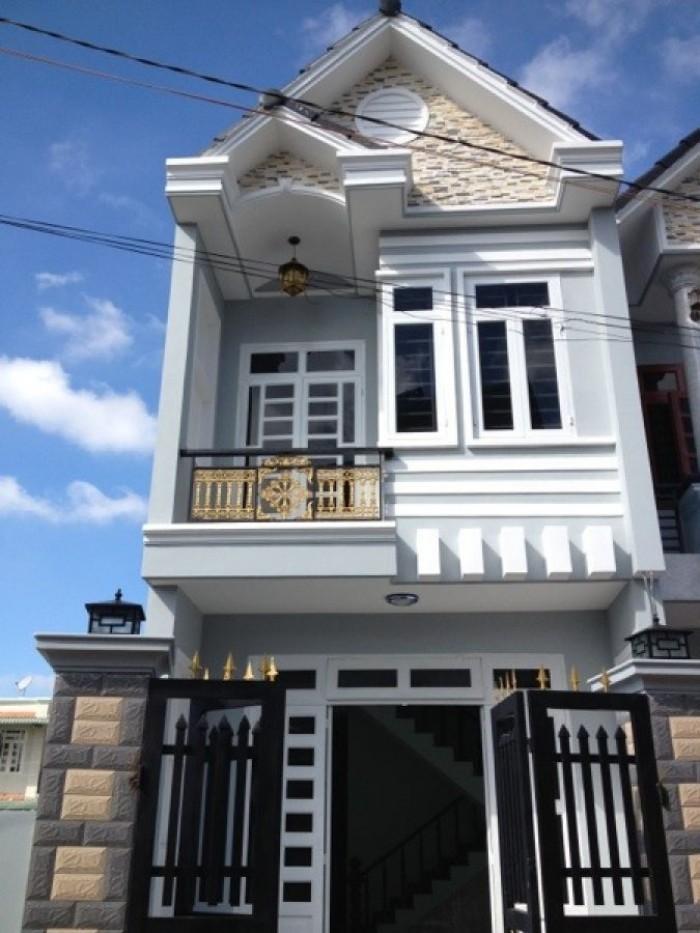 Bán nhà phố liền kề UBND xã Hưng Long,mới xây 100%, Sổ Hồng chính chủ giá 370tr nhận nhà