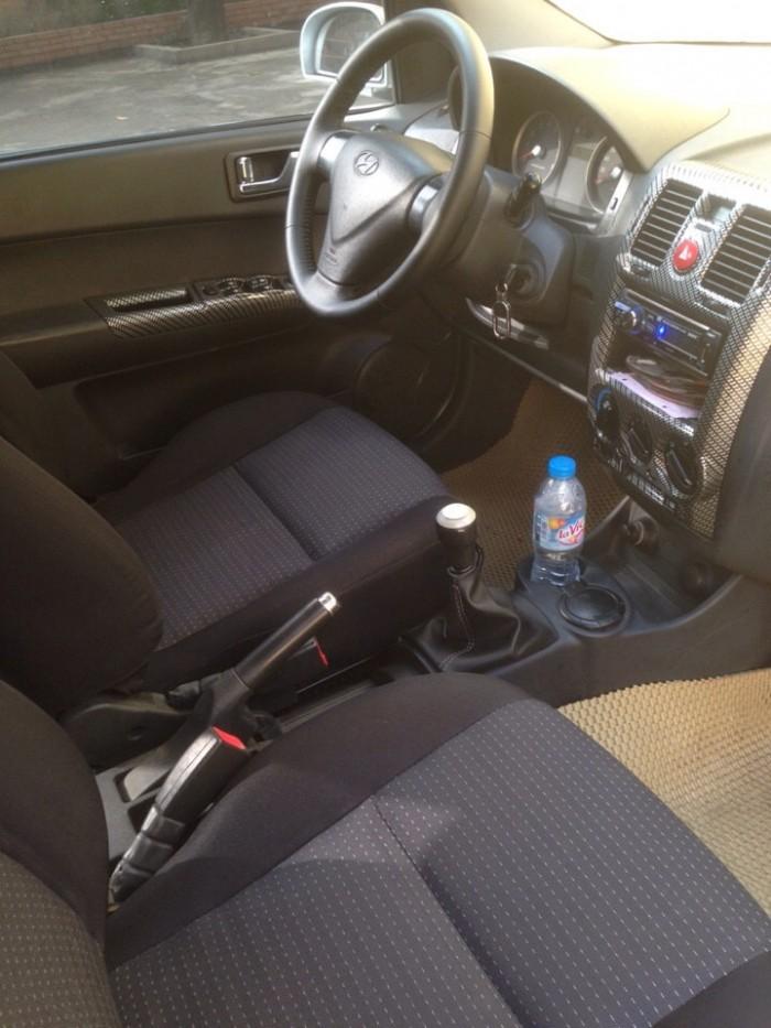 Gia đình cần bán xe huyndai Getz đời 2009, màu bạc, chính chủ, bản đủ. 1