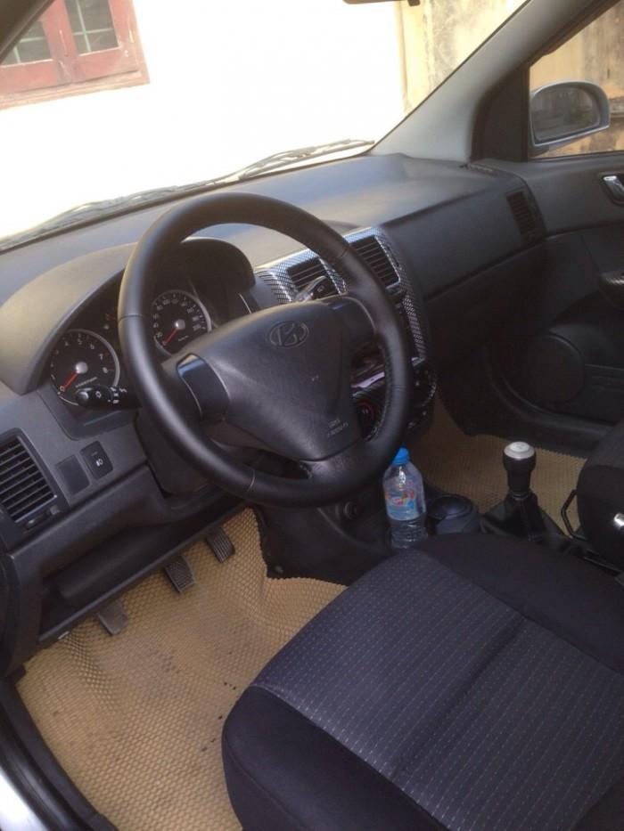 Gia đình cần bán xe huyndai Getz đời 2009, màu bạc, chính chủ, bản đủ. 10