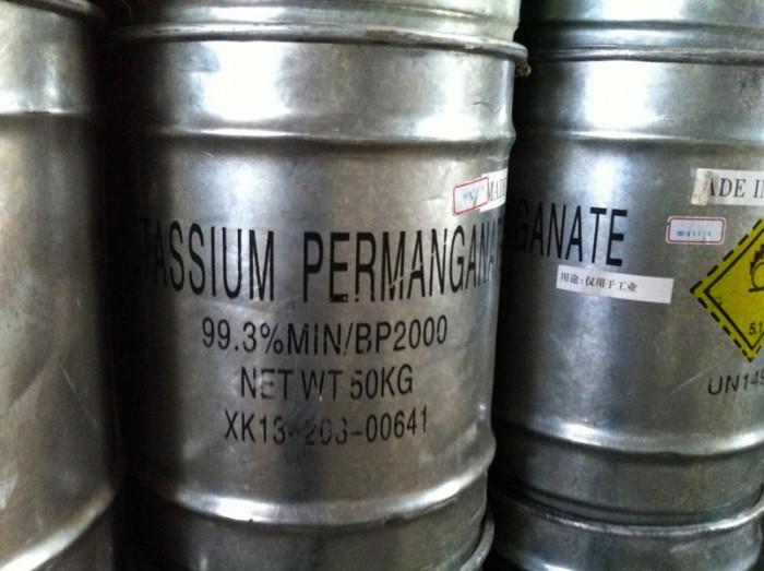 THUỐC TÍM- Hóa chất xử lý chất