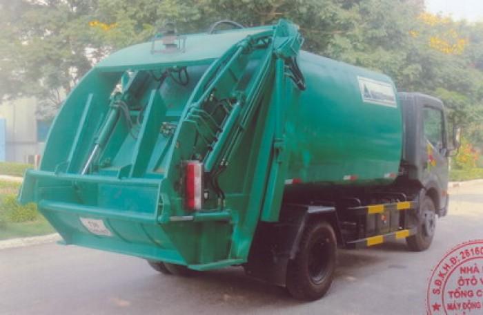 Xe cuốn ép rác 7 khối - VEAM VT652MB/ER - ĐC Nissan ZD30 siêu tiết kiệm nhiên liệu