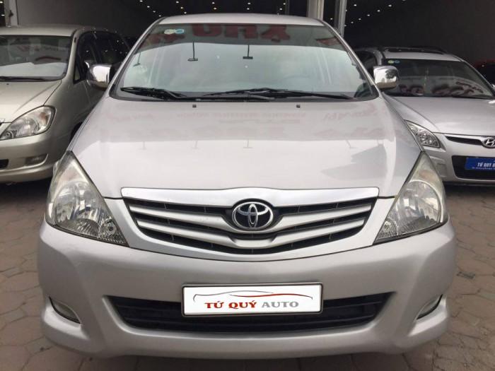 Xe Toyota Innova G 2.0MT 2011