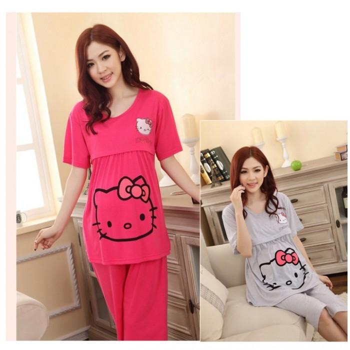 Váy Bầu Kết Hợp Cho Con Bú NX5480