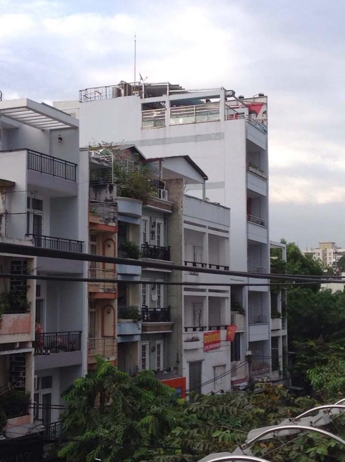 Bán Nhà MT Đường Võ Văn Tần Q3, 7.8x24m, 6 Tầng, 187m2 Giá 55Tỷ
