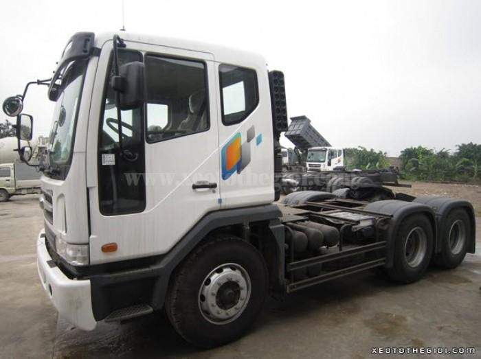 Bán 340 V3TEF 2 cầu Xe Daewoo 45 tấn. Tặng 100% phí trước bạ khi mua 340 V3TEF