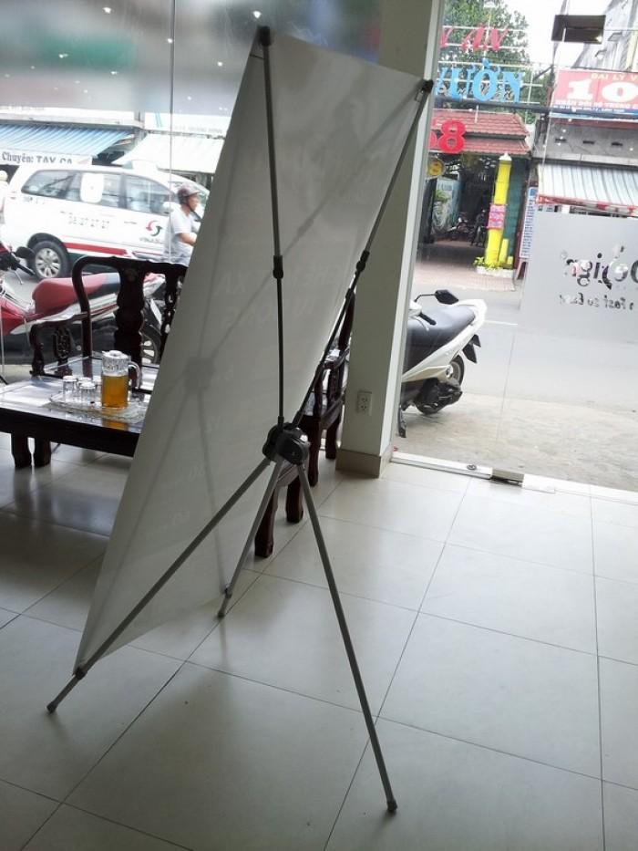 Banner treo standee nhôm cao cấp, thể hiện sự sang trọng và nổi trội cho quảng cá...