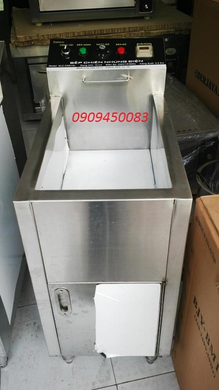 bếp chiên nhúng điện đơn - 15 lít