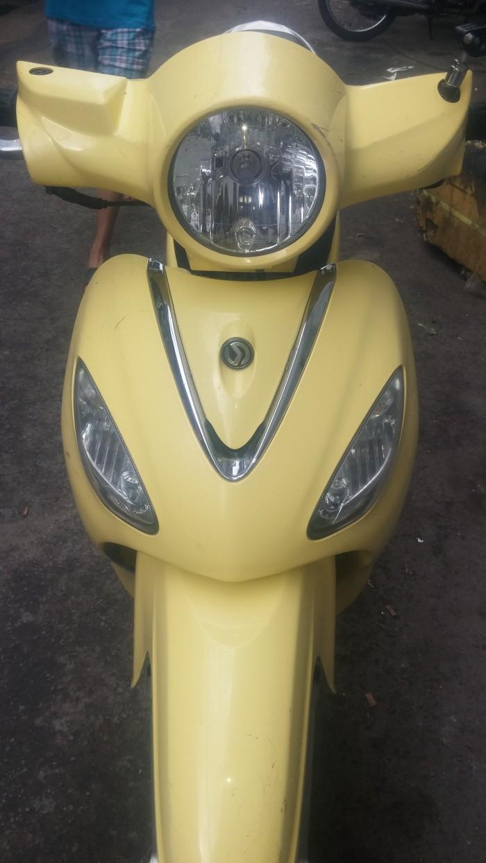Sym angela màu vàng kem số tỉnh full chức năng