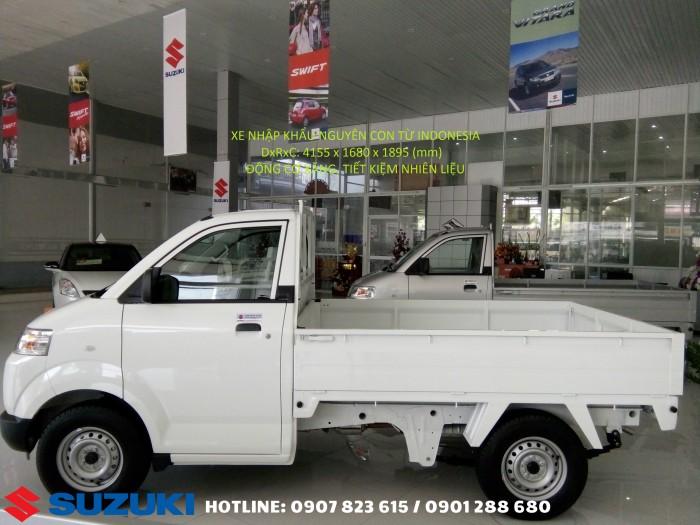 Khuyến mãi sốc đầu năm cho xe tải Carry Pro A/C thùng lững 740 kg