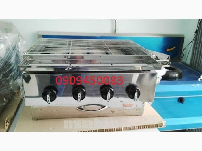 Bếp nướng hồng ngoại -Gas 4 họng2