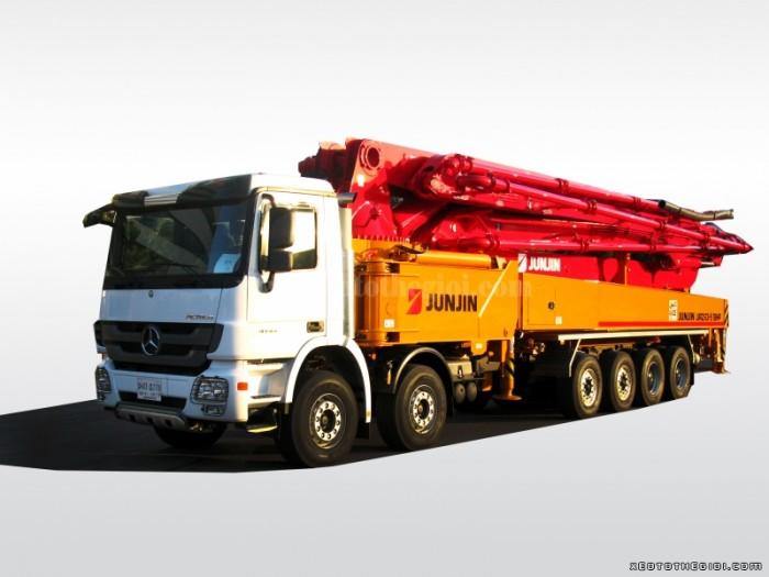 Bán xe Bơm bê tông Junjin JXZZ38-5.16HP 38m, nhập khẩu mới 100%, giao ngay
