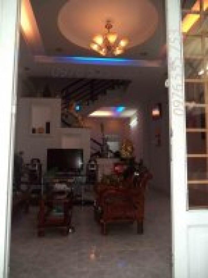 Bán nhà 1 lầu, DT 4m x 14m, hẻm 382/57/kp7 Huỳnh Tấn Phát, Thị trấn Nhà Bè, giá 1.46 tỷ