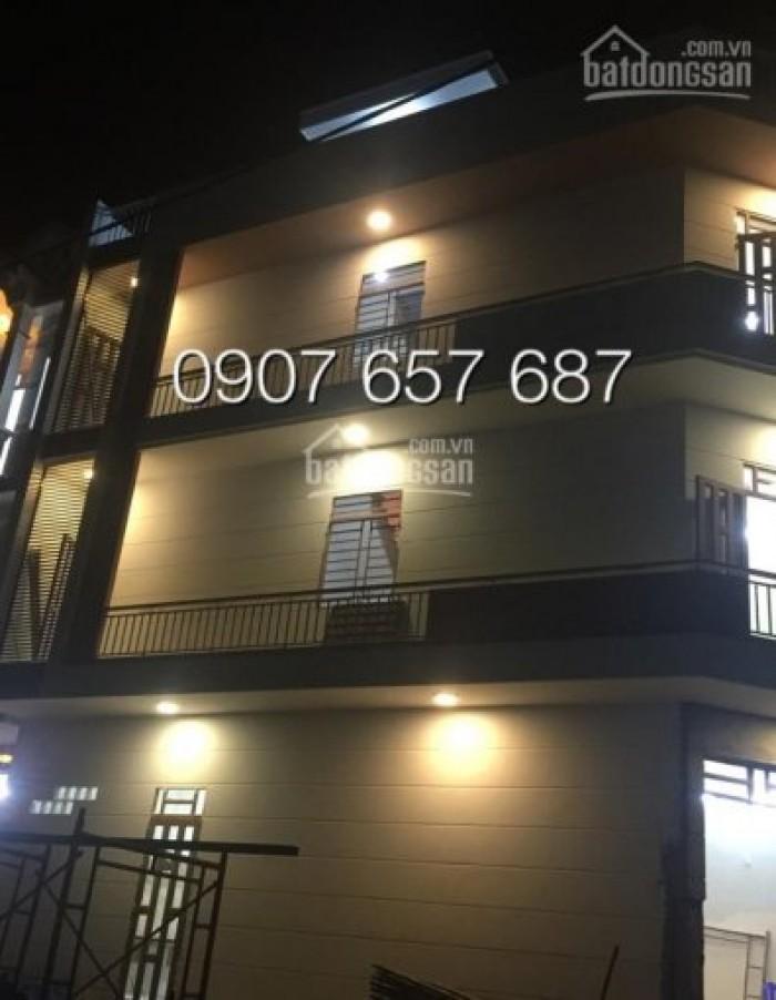 Bán nhà riêng tại KDC Sài Gòn Mới, 3 lầu, 4 PN, giá 2.45 tỷ, góc 2 mặt tiền, KDC Sài Gòn Mới