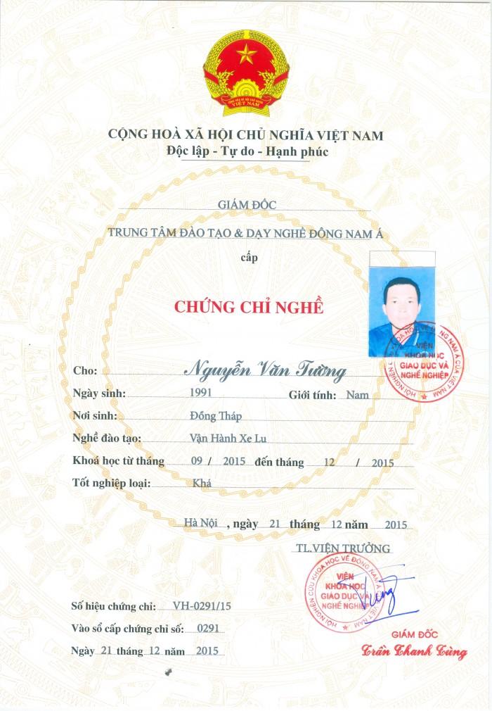 Đào Tạo Cấp Chứng Lái Xe Nâng Tại Hà Nội