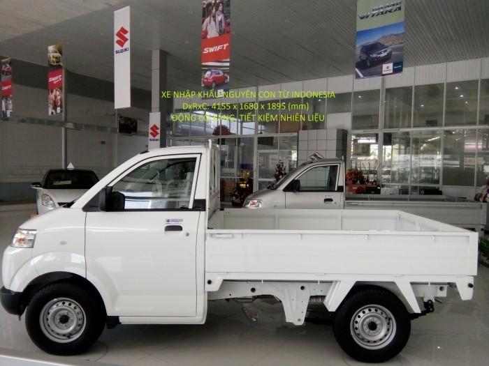 Bán xe Suzuki Carry Pro 2017 thùng lửng 740 kg giá rẻ nhất miền nam