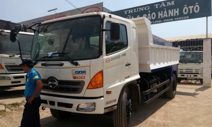 Bán xe tải Ben HINO   5790 Kg, xe Hino  , xe tải Ben Hino 2
