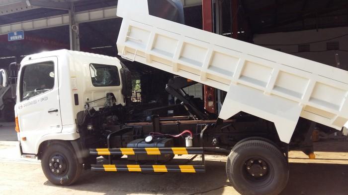 Bán xe tải Ben HINO   5790 Kg, xe Hino  , xe tải Ben Hino 3