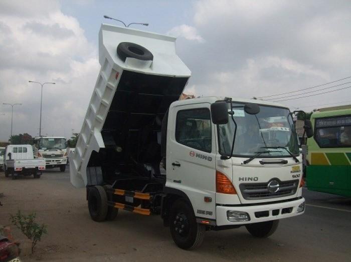 Bán xe tải Ben HINO   5790 Kg, xe Hino  , xe tải Ben Hino 4