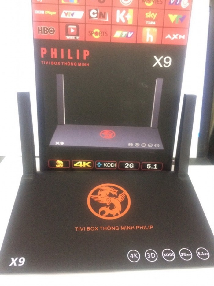 Tivi Box Philips X9 Plus 2G Chính Hãng4