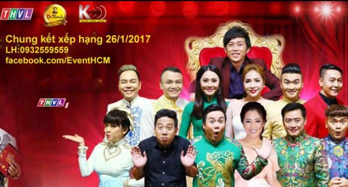 Vé Chung Kết Cười Xuyên Việt 26/1/2017 Phiên Bản Nghệ Sĩ