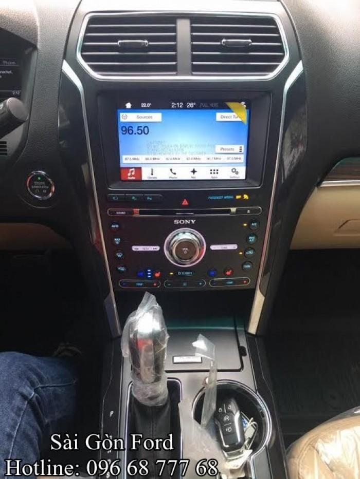 Giá Ford Explorer 2019 - Gía tốt nhất hệ thống Ford Miền Nam, chỉ trả trước 436 triệu 5