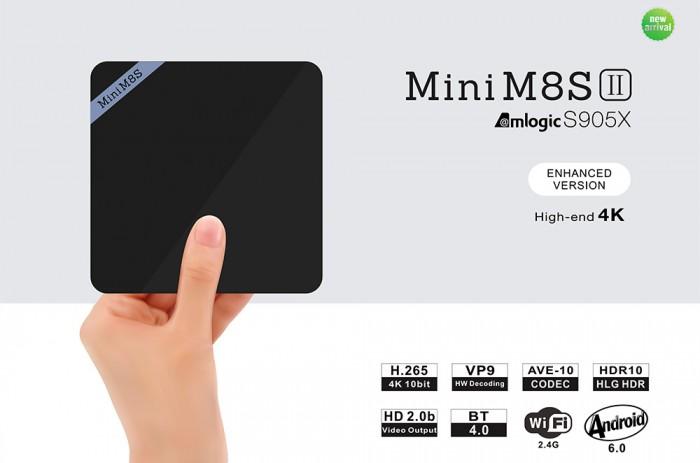 Android TV Box Mini M8S II S905X 2GB/8GB - Free ship toàn quốc, thanh toán COD3
