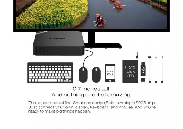 TV Box T95N Mini M8S Pro S905X 2GB/8GB Android 6.0 - Free ship toàn quốc2