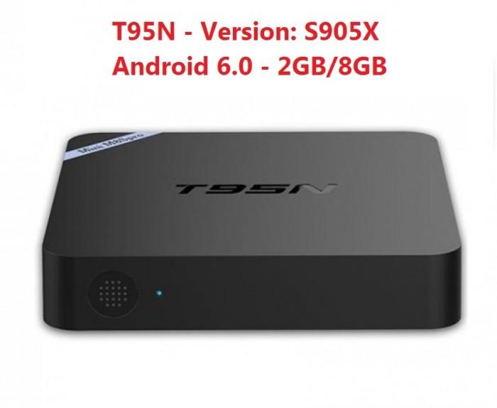 TV Box T95N Mini M8S Pro S905X 2GB/8GB Android 6.0 - Free ship toàn quốc3