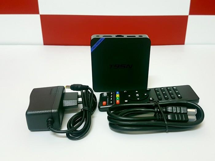 TV Box T95N Mini M8S Pro S905X 2GB/8GB Android 6.0 - Free ship toàn quốc4