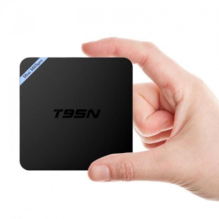 TV Box T95N Mini M8S Pro S905X 2GB/8GB Android 6.0 - Free ship toàn quốc5