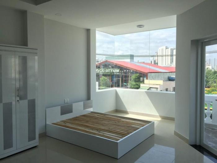 Căn hộ 1 phòng ngủ, 1 phòng khách, bếp gần sân bay Q. Tân Bình. Giá 9tr/th