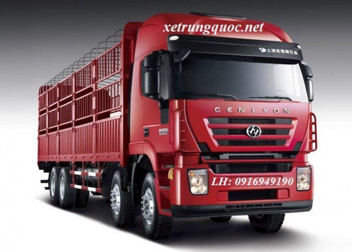 Xe tải thùng 4 chân hongyan iveco( 8x4) tiêu chuẩn euro 3 động cơ cursor của italia 2