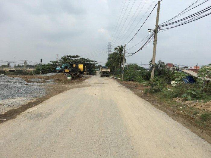 Bán đất thổ cư đường nhựa Nguyễn Duy Trinh Quận 9, ngay vòng xoay Phú Hữu giá 11tr/m2
