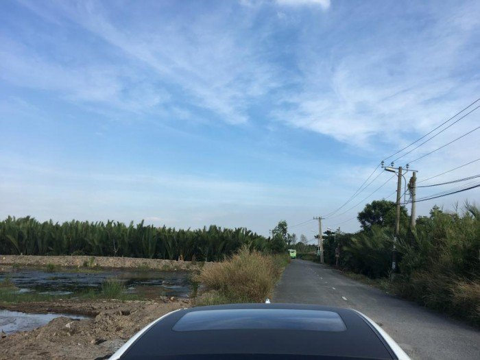 Bán đất huyện Cần Giờ, cách Bình khánh 6km giá 900.000/m2 có 200m2 thổ cư