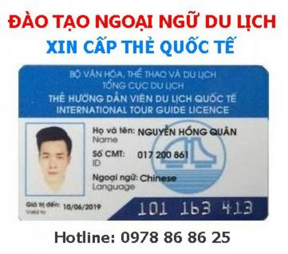 Ôn và Thi Chứng chỉ ngoại ngữ du lịch, cấp thẻ HDV quốc tế