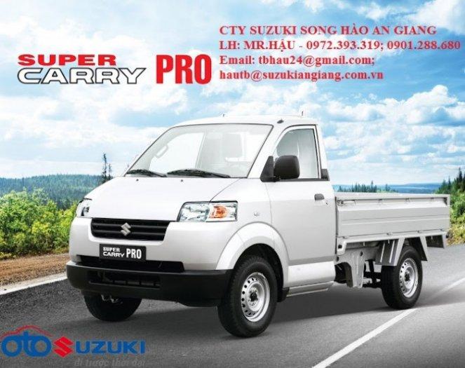 Bán xe tải suzuki carry pro ac 750kg đời 2017