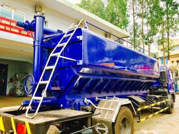 Bán xe tải Hino FG8JPSB 6,8 Tấn thùng chở cám gạo 18m3 giá siêu rẻ