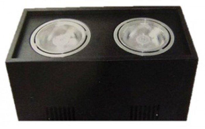 Thông số kỹ thuật : Tên sản phẩm: Đèn Gắn trần BA-20 – Công suất: 2*10W  – Quang thông: 2000Lm Tiết kiêm 85% so với các loại đèn truyền thống. Duy trì quang thông không đổi Thân bằng nhôm sơn tĩnh điện Thích hợp cho lắp đặt ở cửa hàng,văn phòng, nhà ở,… -Tuổi thọ cao 50.000 giờ. – Kích thước(mm): L260* *W130*H145 mm SẢN PHẨM ĐƯỢC BẢO HÀNH. – Giá :1.540.000vnđ  Chỉ còn: 1.232.000vnđ0
