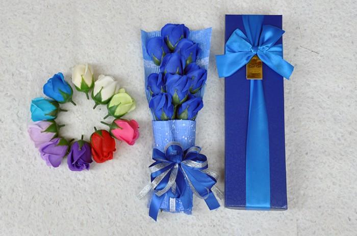 Màu sắc : xanh dương, tím, đỏ , hồng