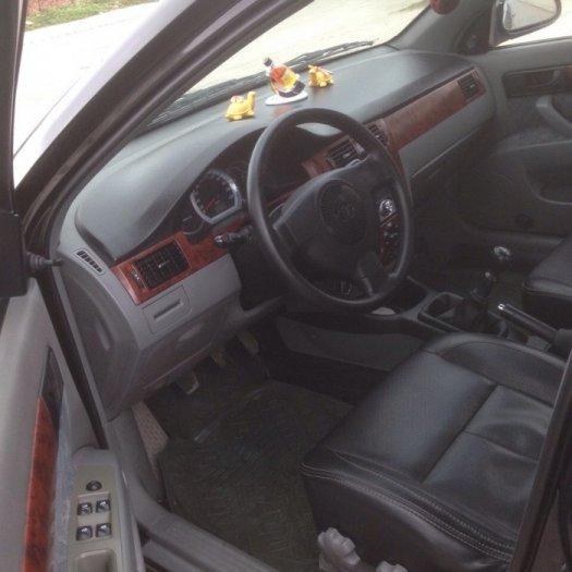 Gia đình cần bán xe Daewoo lacetti đời 2009, màu đen, biển hà nội 4 số. 3