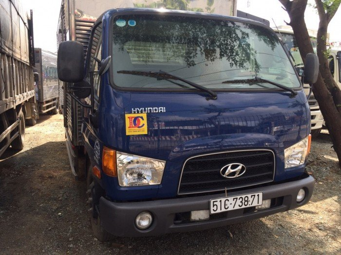 Hyundai hd 72 3t5 thùng kín inox 304