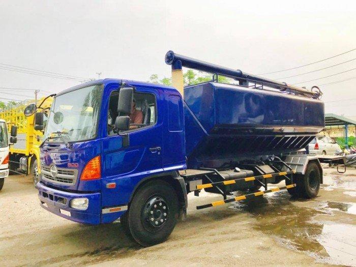 Công ty Ô Tô Đại Đô Thành – Cung cấp Hino FG8JPSB 6,8 Tấn thùng chở cám gạo 18m3 dài 5,8m 0