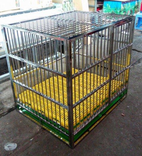 Chuồng Chó Inoc Lắp Ghép Xuất Khẩu KT10484981